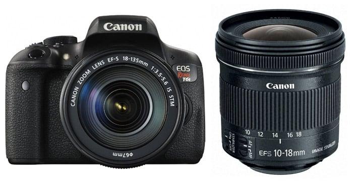 Lenses for Canon T6i